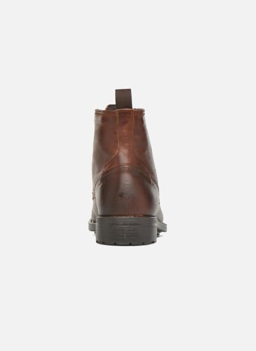 Ankle boots Marvin&co Ansi Brown view from the right