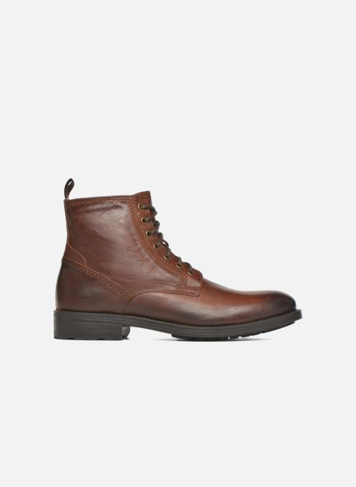 Ankle boots Marvin&co Ansi Brown back view