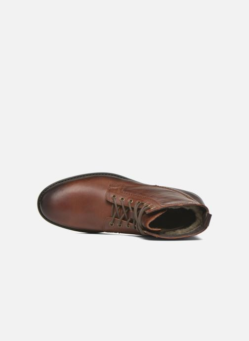 Ankle boots Marvin&co Ansi Brown view from the left