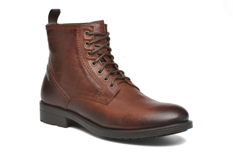 Bottines et boots Marvin&Co Ansi Marron vue détail/paire
