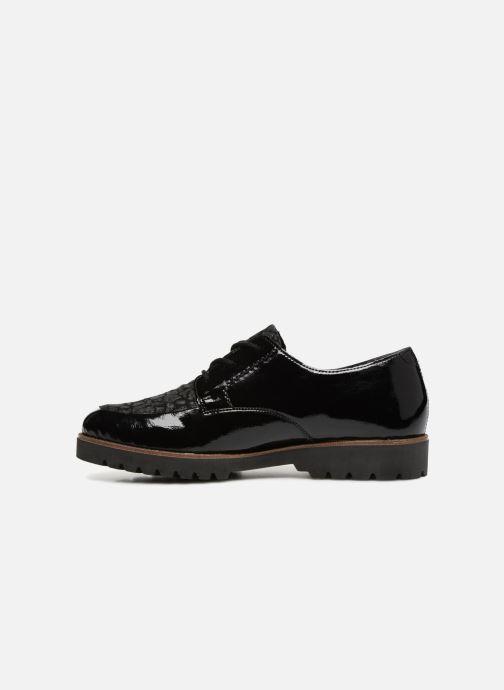 Chaussures à lacets Remonte Monica D0103 Noir vue face