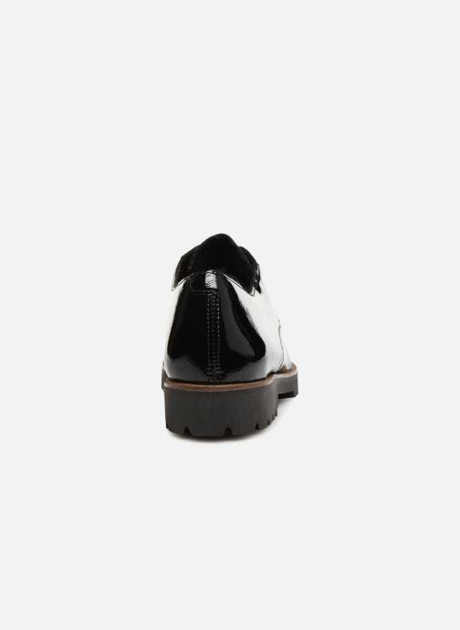 Chaussures à lacets Remonte Monica D0103 Noir vue droite