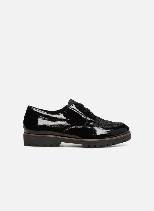 Chaussures à lacets Remonte Monica D0103 Noir vue derrière