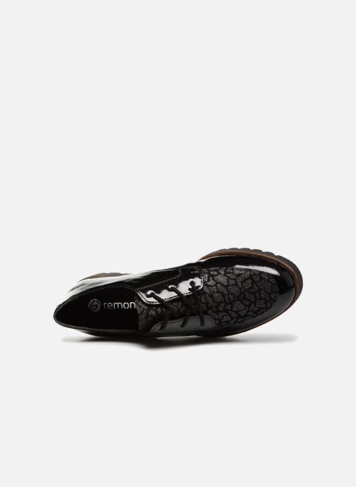 Chaussures à lacets Remonte Monica D0103 Noir vue gauche