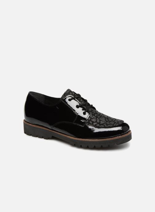 Chaussures à lacets Remonte Monica D0103 Noir vue détail/paire