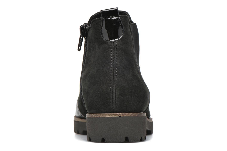Bottines et boots Remonte Clara D0178 Noir vue droite