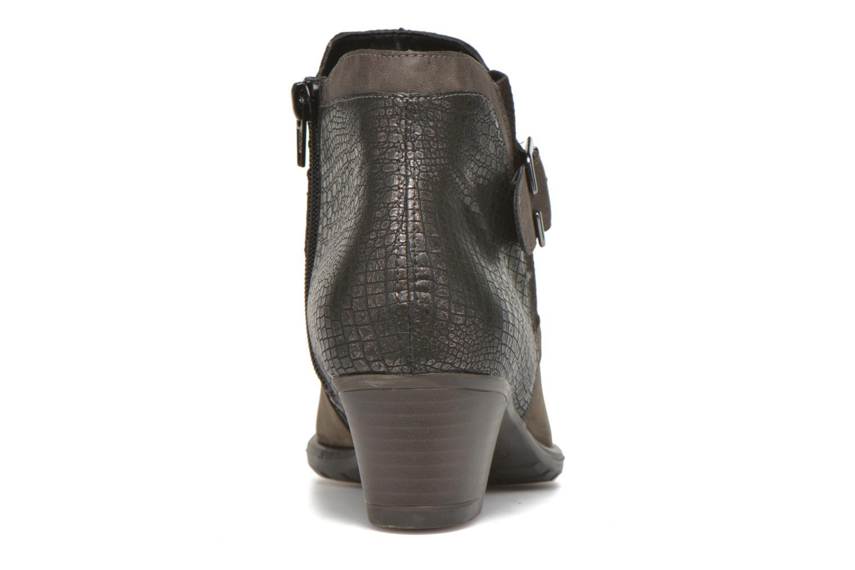 Bottines et boots Remonte Andrea D3182 Gris vue droite