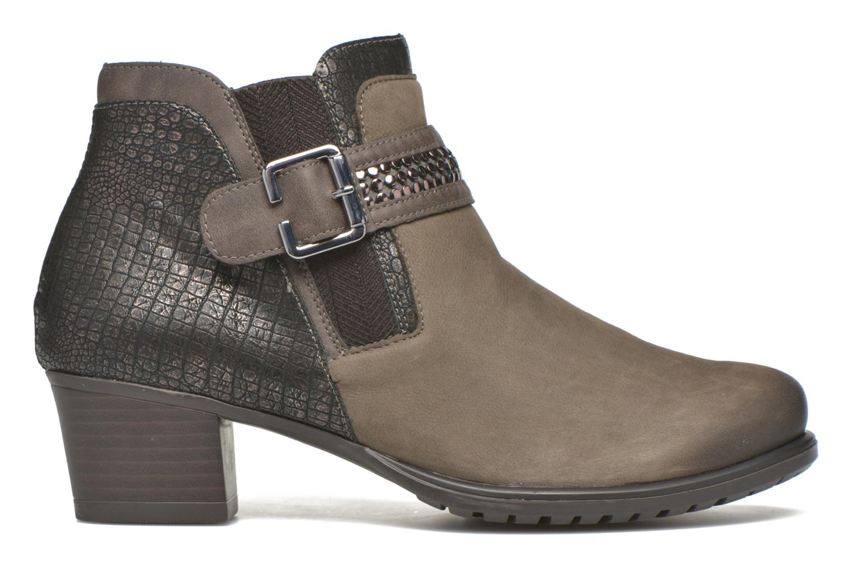 Bottines et boots Remonte Andrea D3182 Gris vue derrière