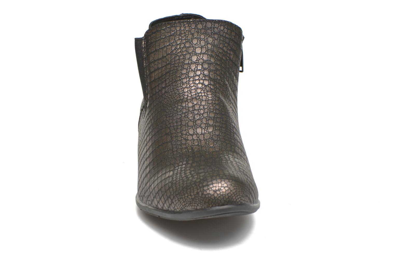 Bottines et boots Remonte Miryam D3570 Or et bronze vue portées chaussures