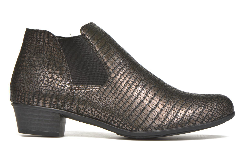 Bottines et boots Remonte Miryam D3570 Or et bronze vue derrière
