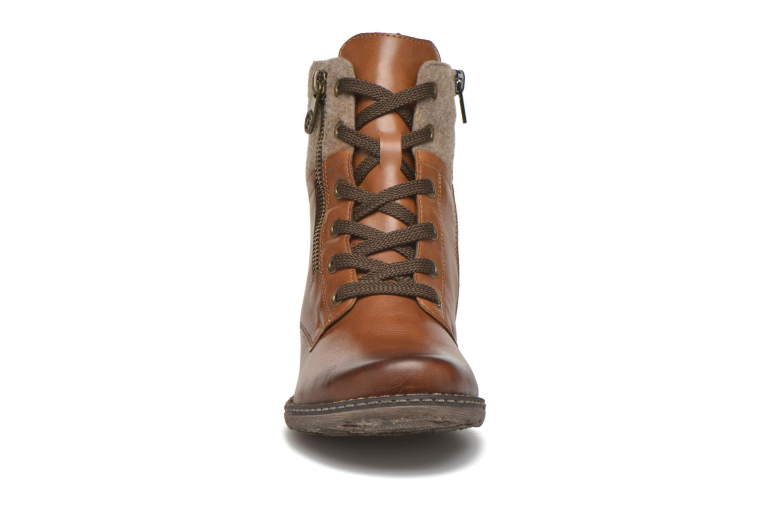 Ankle boots Remonte Alexandra D4379 Brown model view