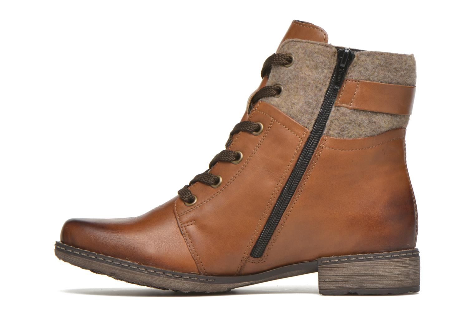 Bottines et boots Remonte Alexandra D4379 Marron vue face