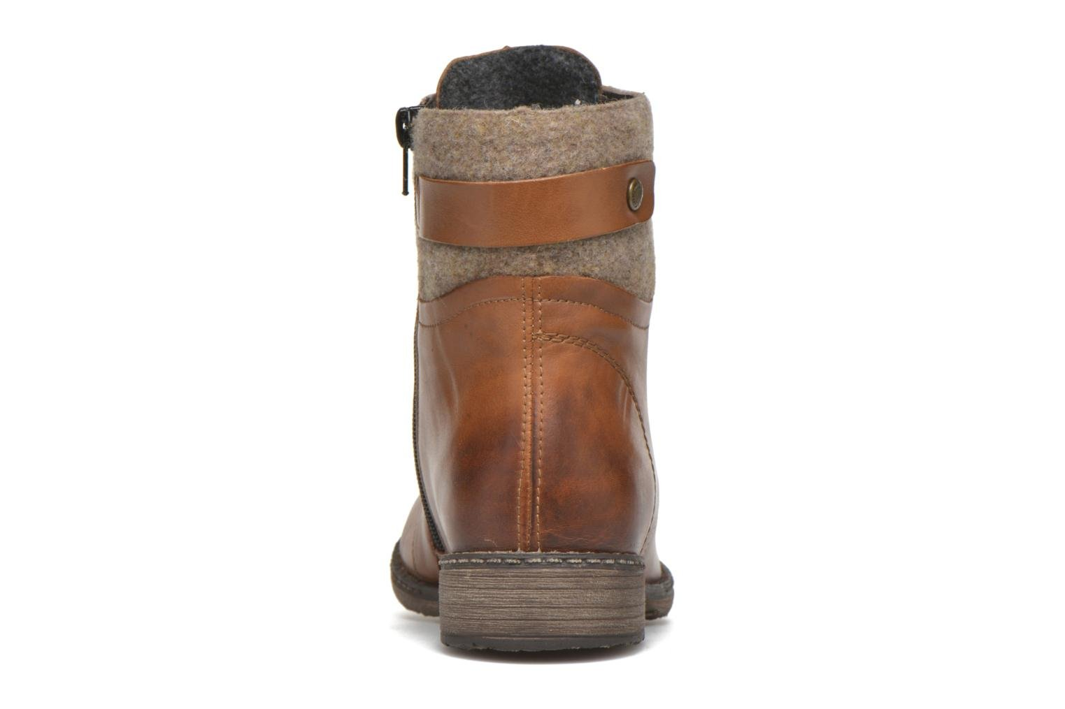 Ankle boots Remonte Alexandra D4379 Brown view from the right