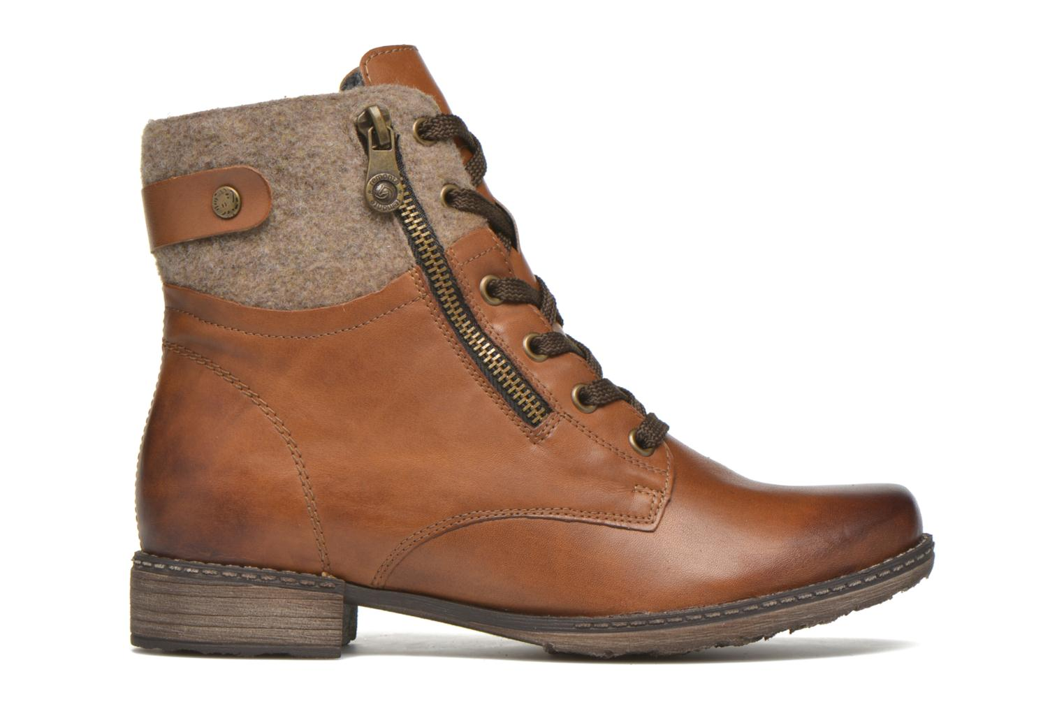 Ankle boots Remonte Alexandra D4379 Brown back view