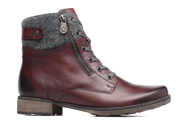 Bottines et boots Remonte Alexandra D4379 Rouge vue derrière