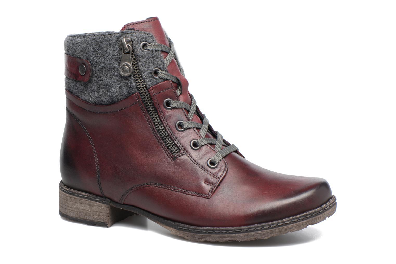 Bottines et boots Remonte Alexandra D4379 Rouge vue détail/paire