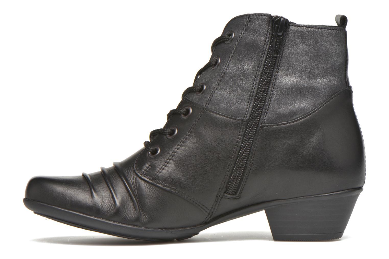 Bottines et boots Remonte Joséphine D7390 Noir vue face