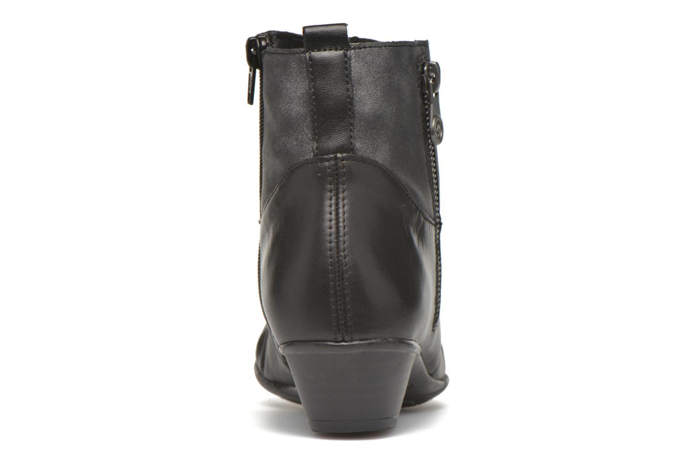 Bottines et boots Remonte Joséphine D7390 Noir vue droite