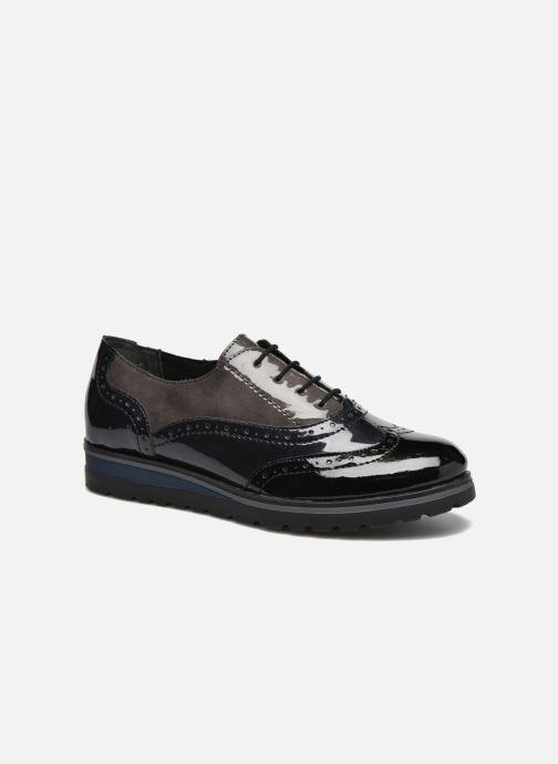 Chaussures à lacets Remonte Alix R1901 Noir vue détail/paire