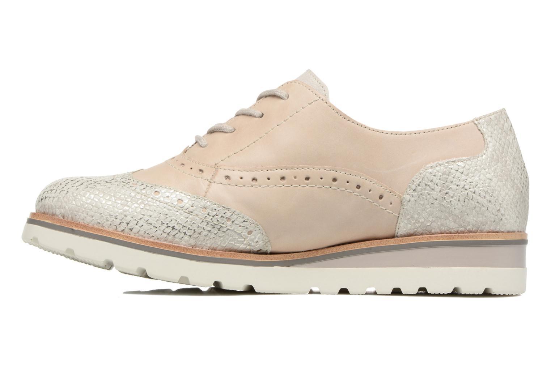 Chaussures à lacets Remonte Alix R1901 Blanc vue face