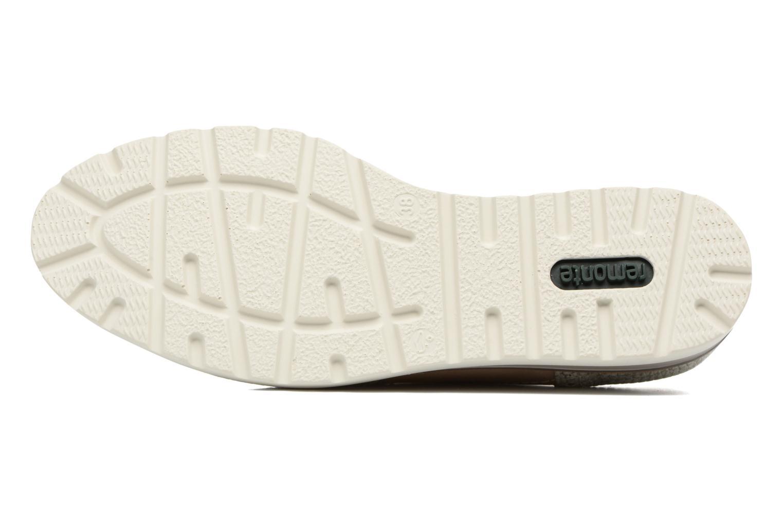 Chaussures à lacets Remonte Alix R1901 Blanc vue haut