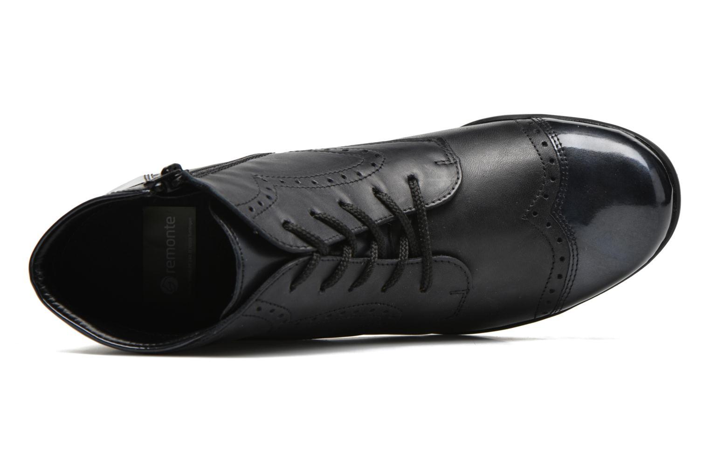 Bottines et boots Remonte Oriane R9170 Bleu vue gauche