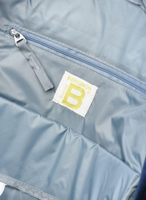Rucksäcke Bensimon City Backpack blau ansicht von hinten
