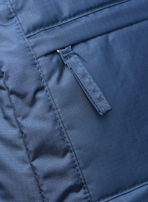Rucksäcke Bensimon City Backpack blau ansicht von links