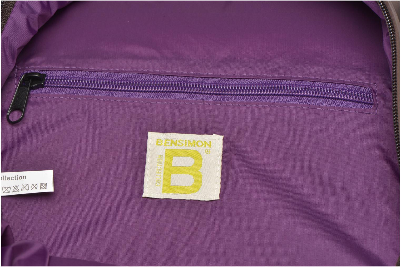 Sacs à dos Bensimon City Backpack Marron vue derrière
