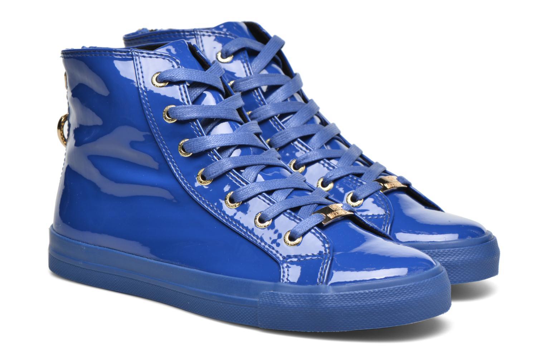 Baskets Love Moschino Ocean Bleu vue 3/4
