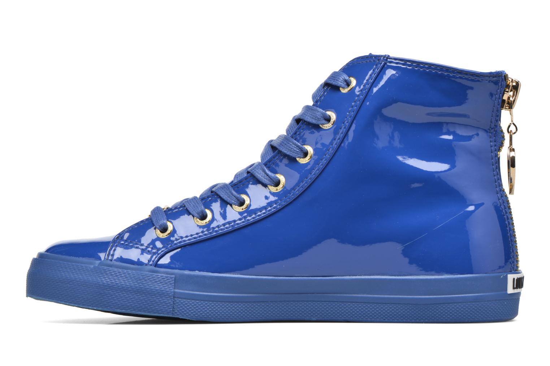 Baskets Love Moschino Ocean Bleu vue face