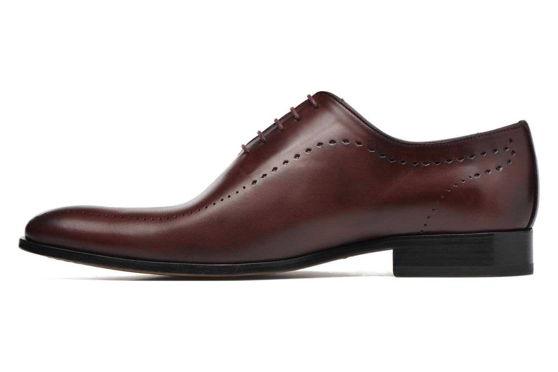 Chaussures à lacets Brett & Sons Raya Bordeaux vue face
