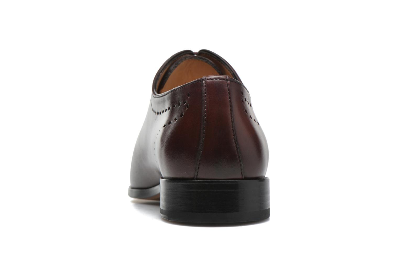 Chaussures à lacets Brett & Sons Raya Bordeaux vue droite