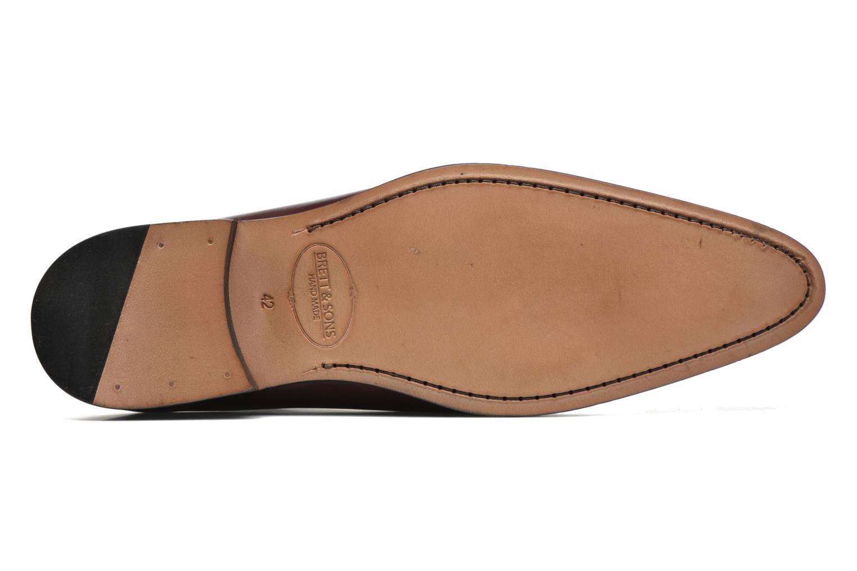Chaussures à lacets Brett & Sons Raya Bordeaux vue haut