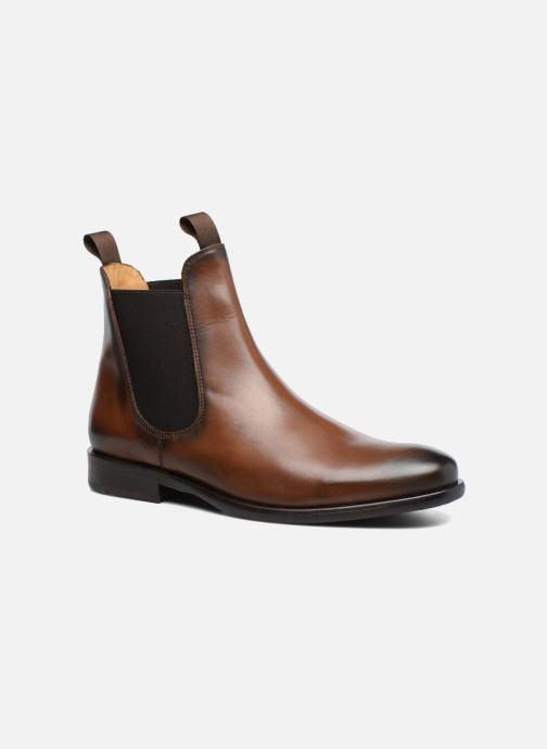 Bottines et boots Brett & Sons Aron Marron vue détail/paire