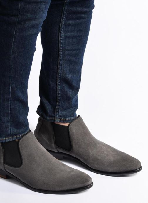 Ankle boots Mr SARENZA Toddown Black view from underneath / model view