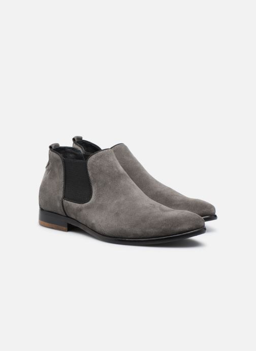 Ankle boots Mr SARENZA Toddown Grey back view