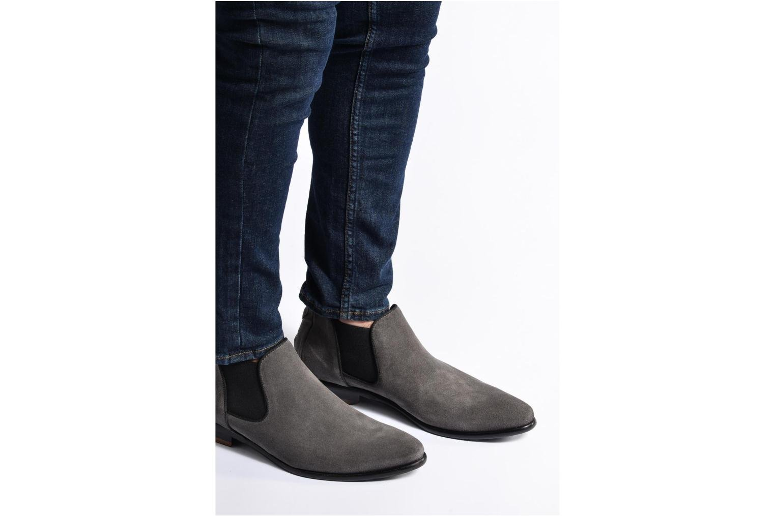 Ankle boots Mr SARENZA Toddown Grey view from underneath / model view