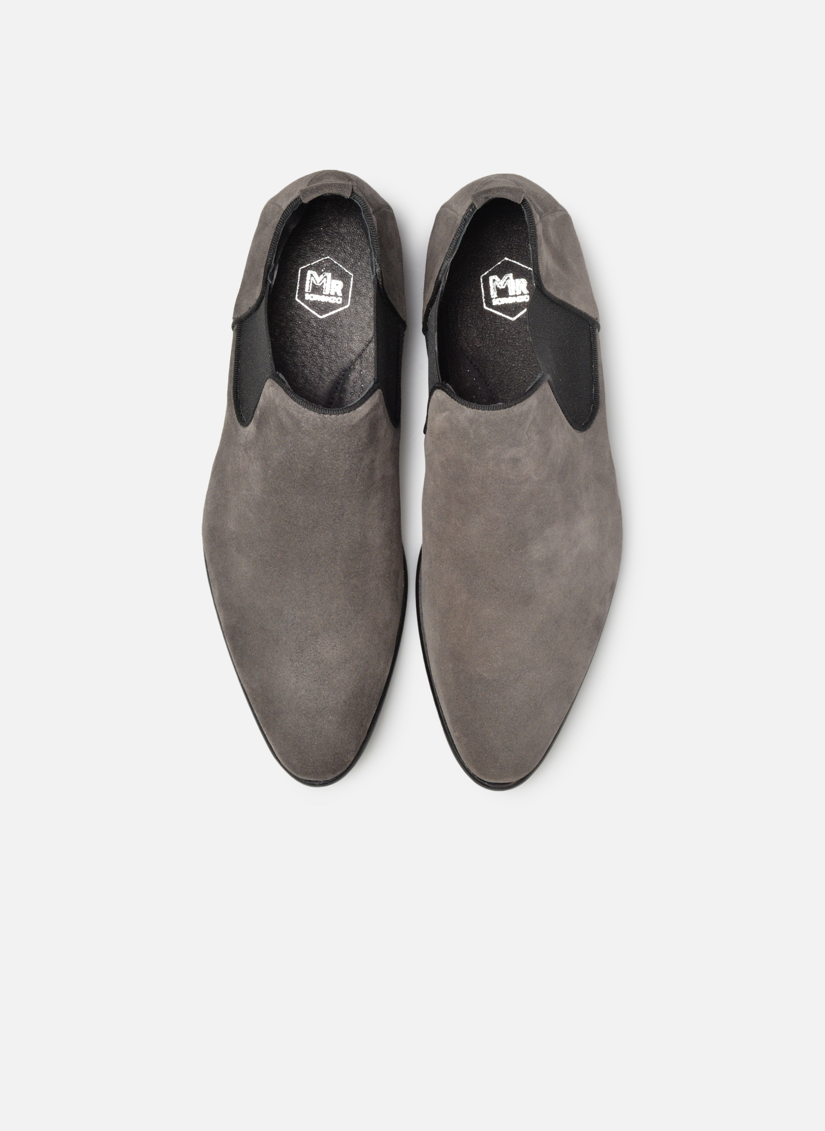 Ankle boots Mr SARENZA Toddown Grey model view