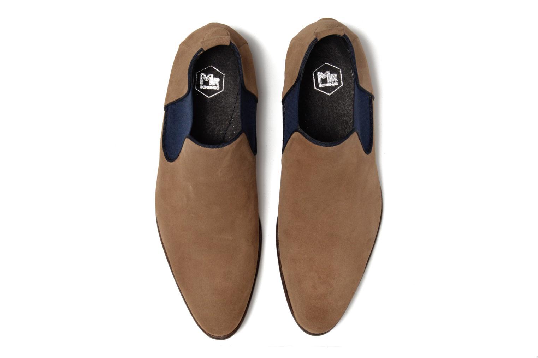 Bottines et boots Mr SARENZA Toddown Beige vue portées chaussures