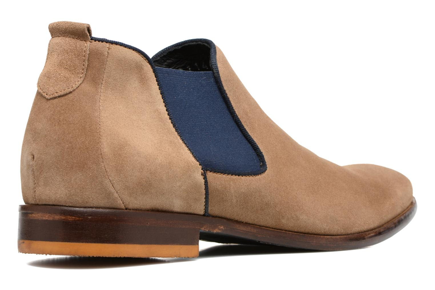 Ankle boots Mr SARENZA Toddown Beige front view