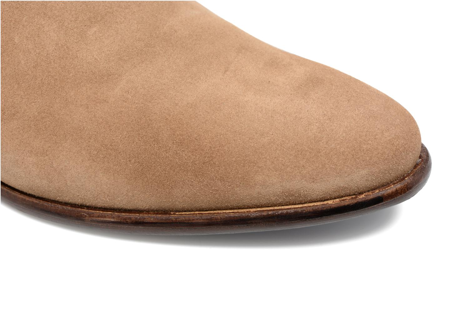 Ankle boots Mr SARENZA Toddown Beige view from the left