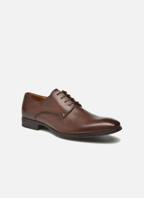 Lace-up shoes Marvin&co Thorne Brown detailed view/ Pair view