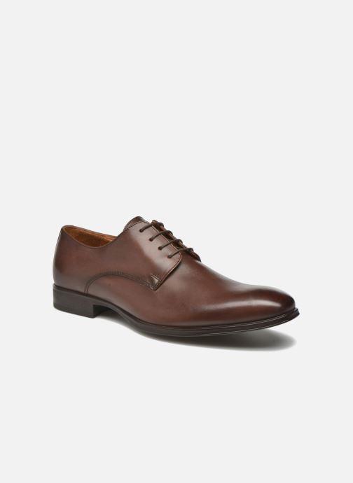 Snøresko Marvin&Co Thorne Brun detaljeret billede af skoene