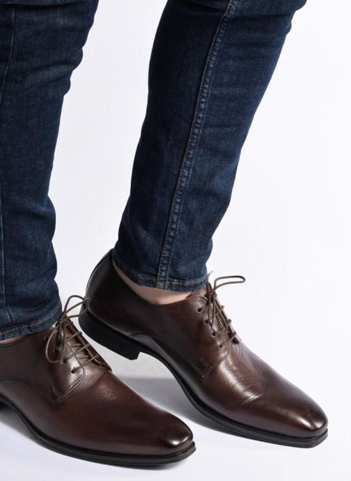 Lace-up shoes Marvin&co Thorne Black view from underneath / model view