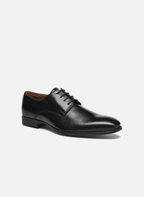 Lace-up shoes Marvin&co Thorne Black detailed view/ Pair view