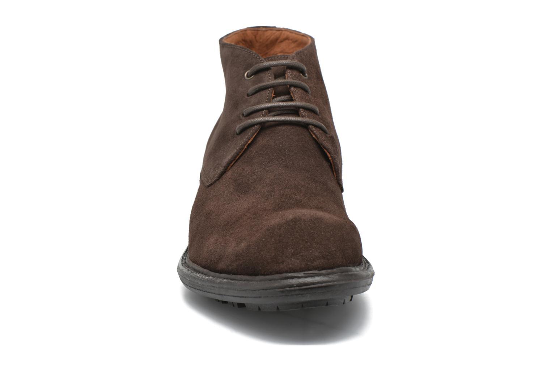 Chaussures à lacets Marvin&Co Tunstall Marron vue portées chaussures