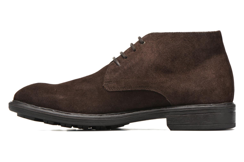 Chaussures à lacets Marvin&Co Tunstall Marron vue face