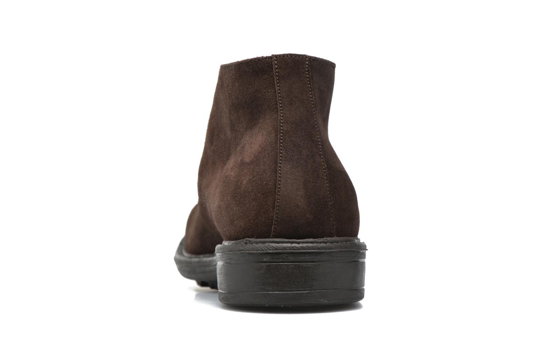 Chaussures à lacets Marvin&Co Tunstall Marron vue droite