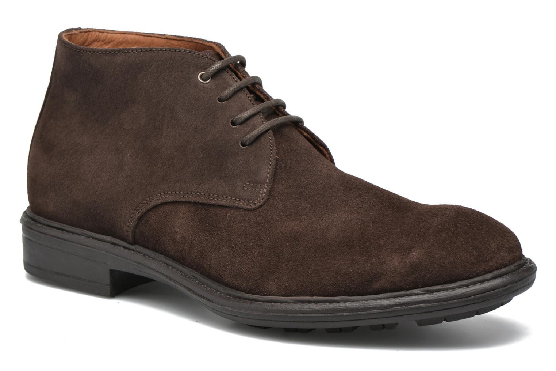 Chaussures à lacets Marvin&Co Tunstall Marron vue détail/paire